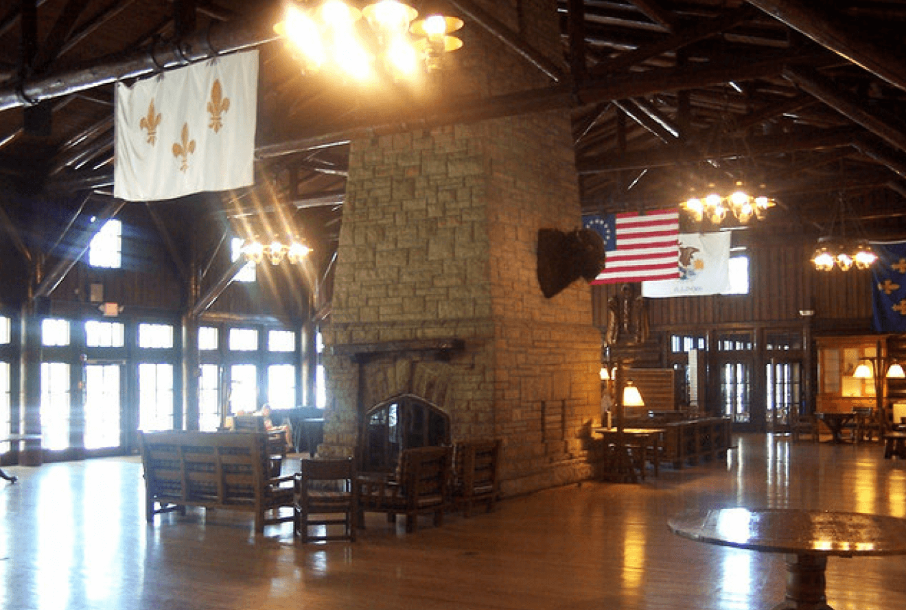 Starved Rock Lodge Interior