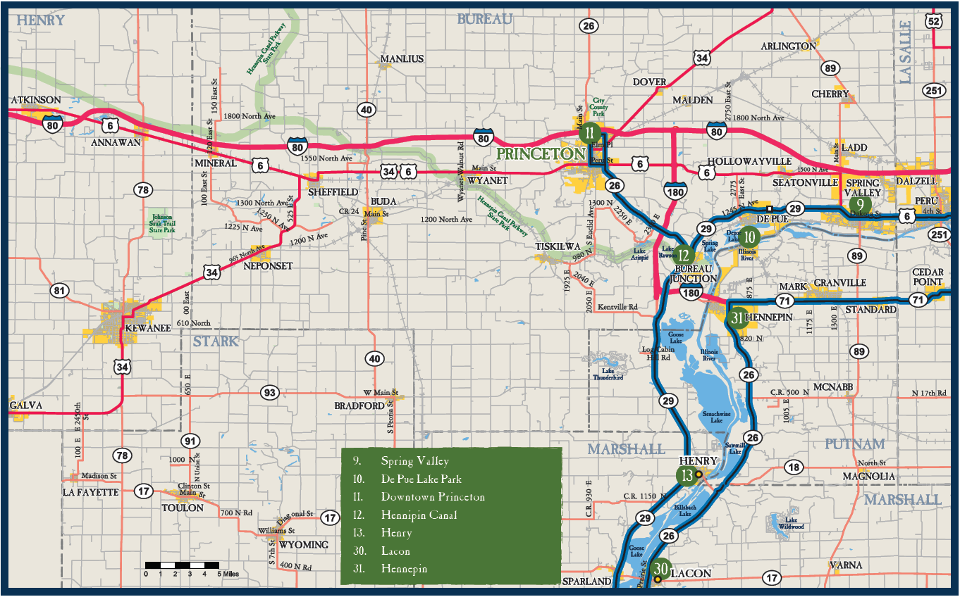 Map of Princeton